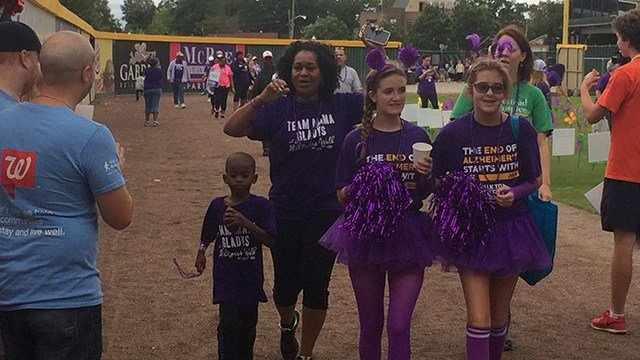 Walk to End Alzheimer's (October 8, 2016 FOX Carolina)