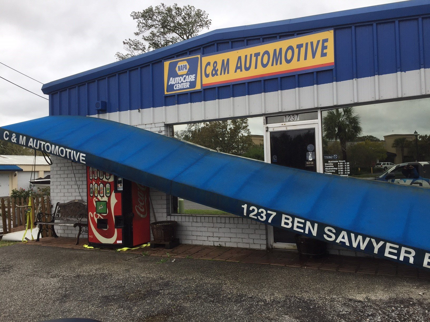 Storm damage in Mount Pleasant (FOX Carolina)