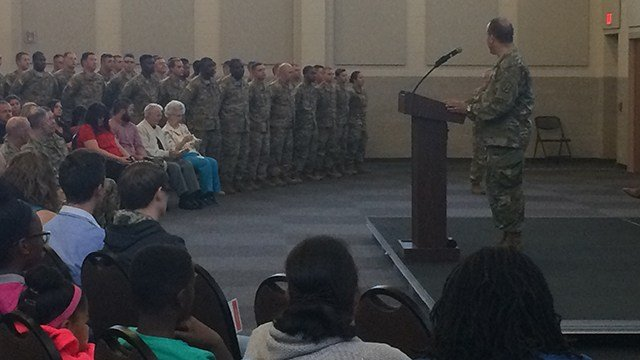 Ceremony held to deploy SC National Guard to Horn of Africa. (October 8, 2016 FOX Carolina)