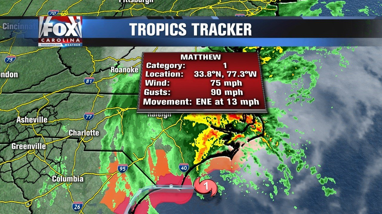 Hurricane Matthew weakens as it pummels Southeast
