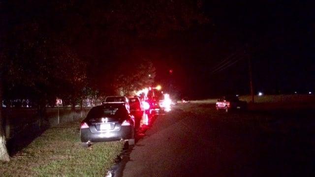 Dispatchers reportedinjuries in an Anderson County fire Saturday evening. (FOX Carolina/ 10/8/16)