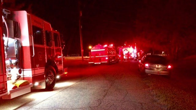 No injuries were reported in a Greenville Co. mobile home fire Sunday night. (FOX Carolina/ 10/9/16)