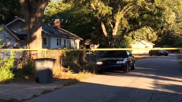 Police patrol area after shooting in Greenville Co. (October 10, 2016 FOX Carolina)