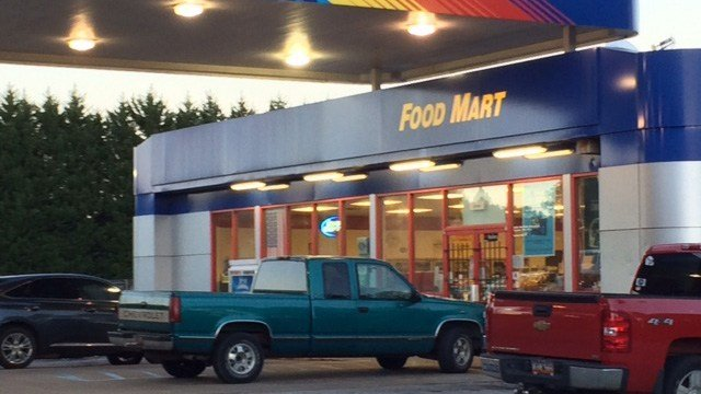 Reported armed robbery at Handee Mart in Travelers Rest. (October 10, 2016 FOX Carolina)