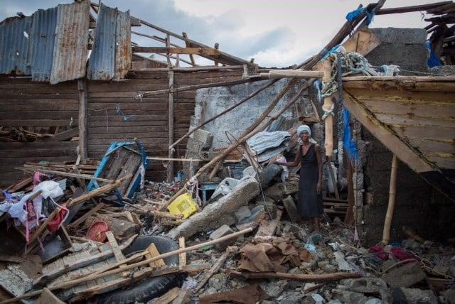 Destrution in Les Cayes, Haiti (Courtesy: Samaritan's Purse)