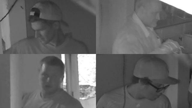 Unidentified suspects in Arden break-ins. (Source: BCSO)