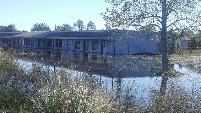 Flooding in Florence after Hurricane Matthew. (Source: Sheriff Chuck Wright)