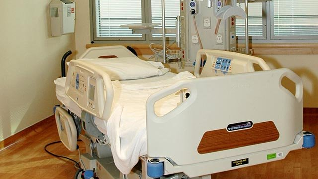 Hospital bed (Wikimedia Commons)