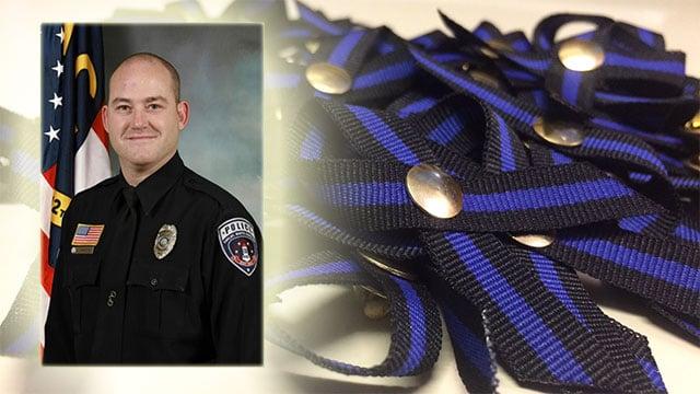 The ribbons will raise money for Officer Brackeen's family. (Source: MCSO)