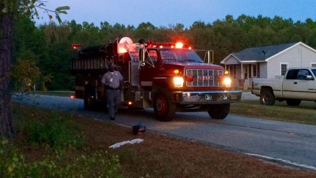 The coroner was called to the scene of a fatal moped vs. vehicle crash in Anderson Co. Thursday. (FOX Carolina/10/13/16)