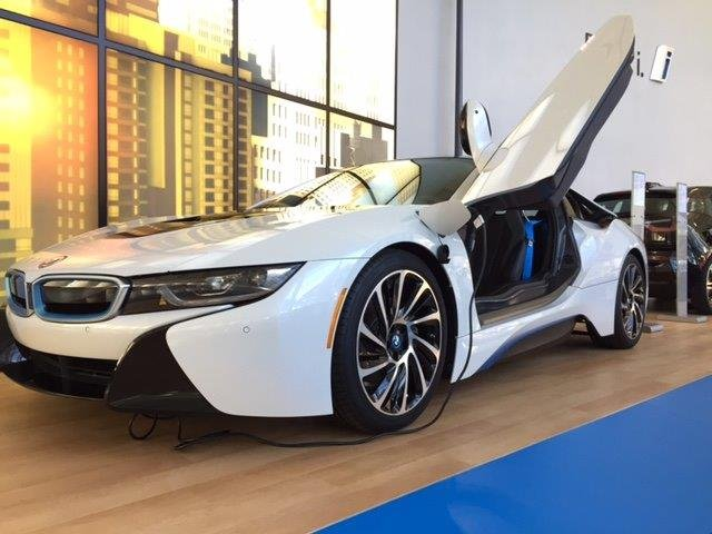 BMW Manufacturing Co. visitors were able to get a sneak peak at the newly redesigned BMW Zentrum Museum. It officially opens to the public on October 17. (FOX Carolina/ 10/13/16)