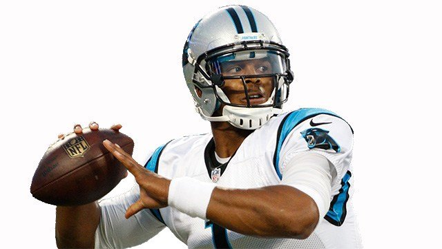 Cam Newton. (Source: AP Images)
