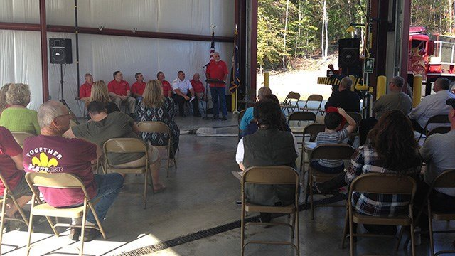 New fire substation dedicated to Dacusville Fire Department. (October 16, 2016 FOX Carolina)