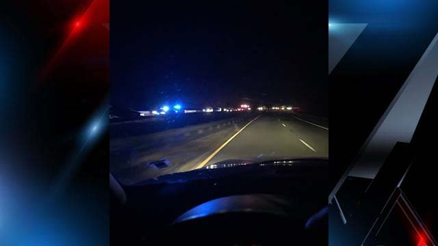 Witnesses said a crash blocked the highway in Pickens Co. Sunday night. (Source: iWitness)