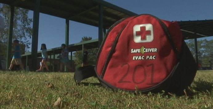 SafeCeiver allows teachers to communicate quietly during a crisis, preventing a panic at school (FOX Carolina)