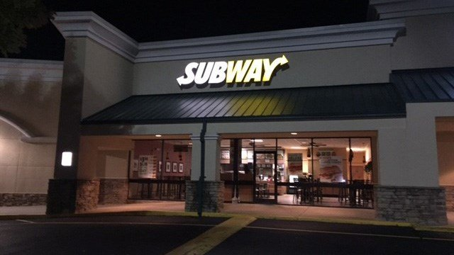 Subway in Hendersonville (October 17, 2016 FOX Carolina)