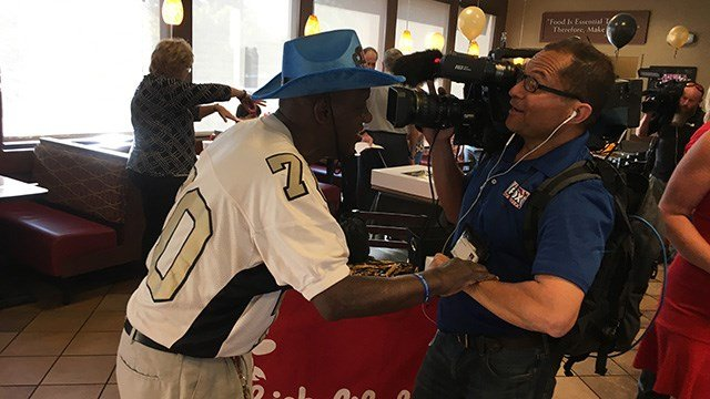 Radio celebrates 70. (October 18, 2016 FOX Carolina)