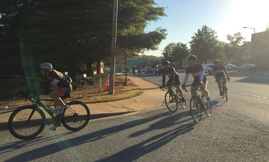 Deputies depart from the Greenville Co. LEC (FOX Carolina/ Oct. 19, 2016)