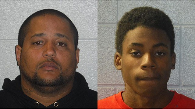 Kevin Amaury Rodriguez (left) Miles J. Dunbar (right) (Source: Henderson County Sheriff's Office)