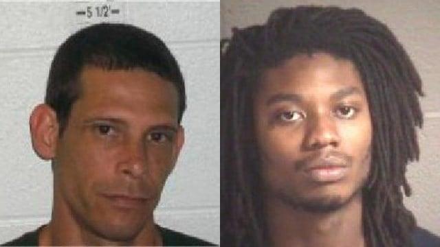 Luis Enrique Laguna (left) Demarkus Lovon Dunbar (right) (Source: Henderson County Sheriff's Office)