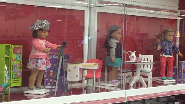 Dolls and doll clothes at discount prices. Shop online or in our stores in Hendersonville, NC and Pigeon Forge, TN.
