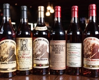 Green's holds rare bourbon lottery. (Source: greensbeverages.com)
