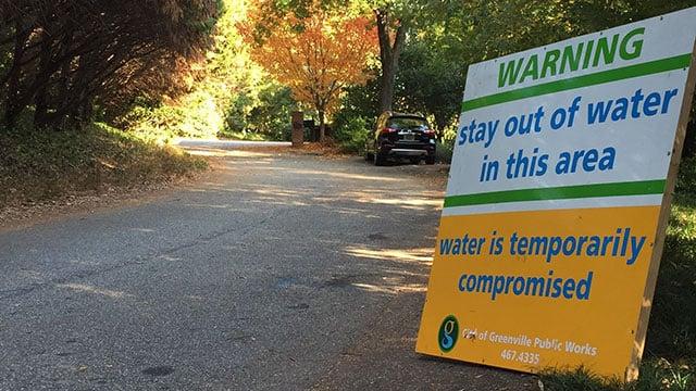 Wastewater warning (file/FOX Carolina)