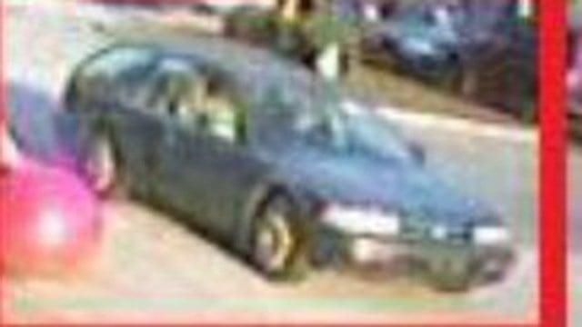 Suspect's getaway vehicle. (Greer Police Department)
