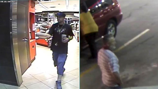 Greenville police are searching for two suspects in multiple auto thefts. (Source: GPD)