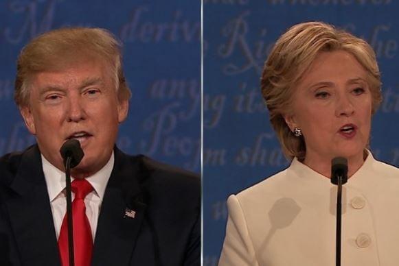 Donald Trump (left) and Hillary Clinton (Courtesy: CNN)