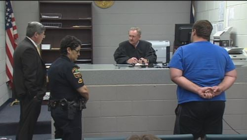 Kohlhepp in bond court. (Nov. 4, 2016/FOX Carolina)