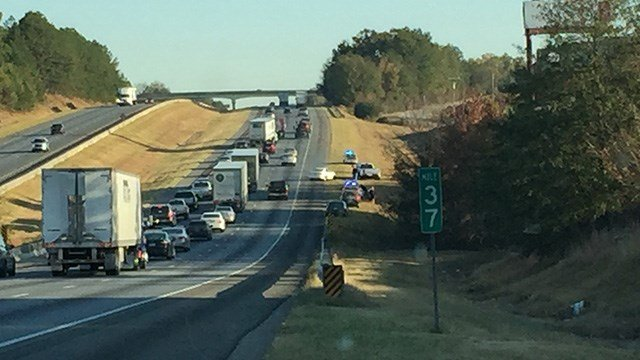 Troopers respond to fatal collision in Anderson. (November 5, 2016 FOX Carolina)