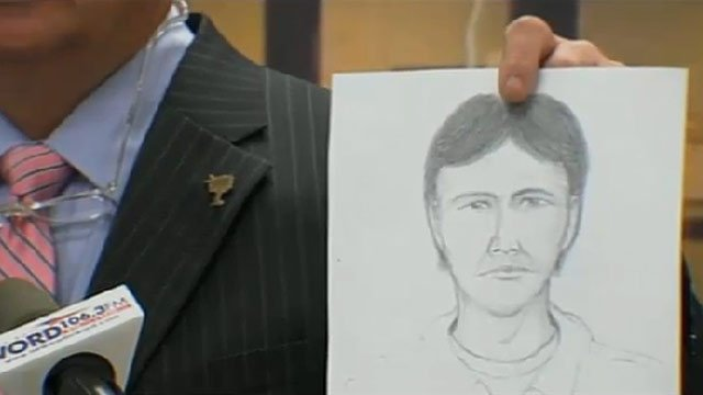 Sheriff Chuck Wright says the man in the sketch has never come forward but was seen at the store the day of the killings. (Mar. 1, 2012/FOX Carolina)
