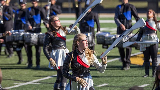 Byrnes HS marching band won the SCBDA 5A Marching Band Championship over the weekend. (Source: Upstate Creative Photography)