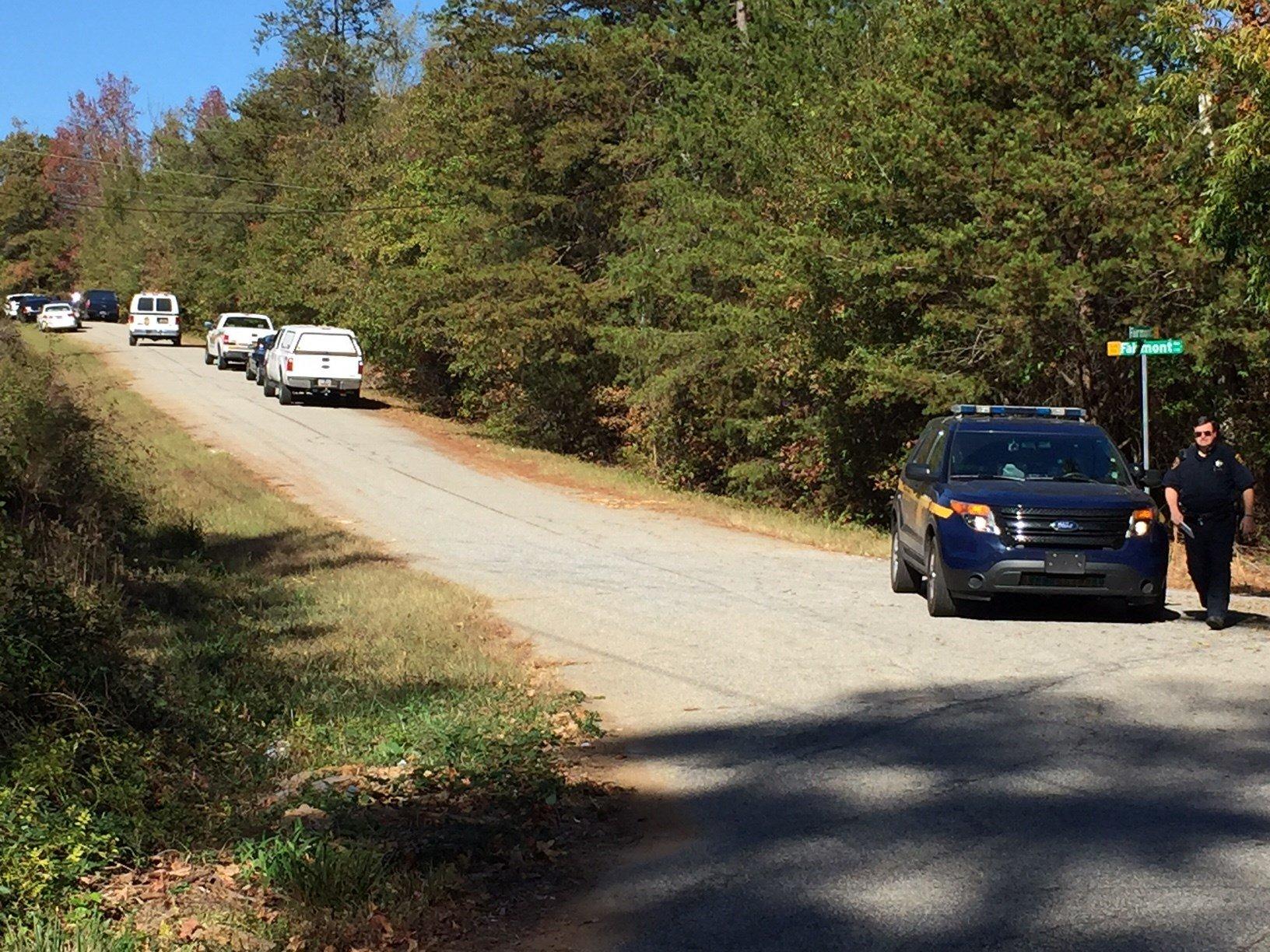 Scene near Melvin Road. (Nov. 7, 2016/FOX Carolina)