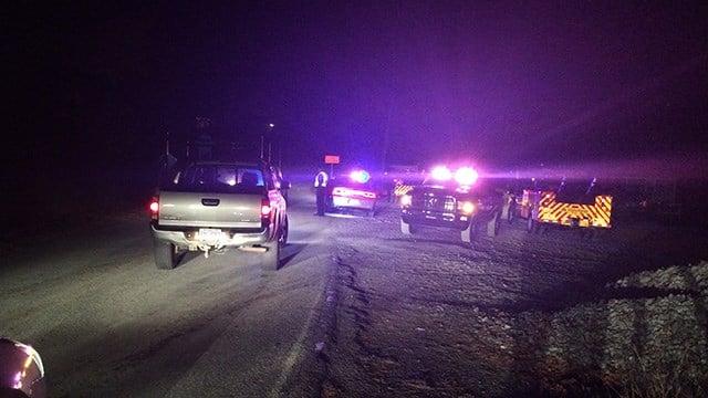 Scene where child injured by fireworks in Waynesville. (November 7, 2016 FOX Carolina)