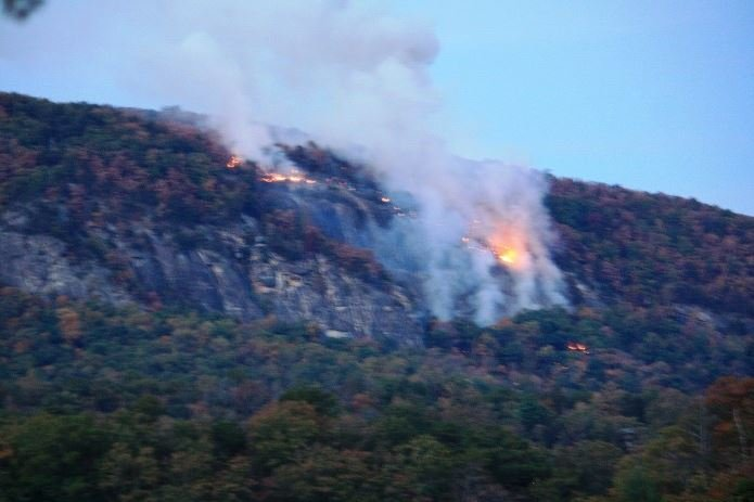 Party Rock fire (Source: Town of Lake Lure)