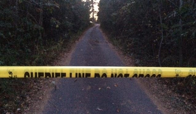 Property on Little Texas Road where deputies said bodies were found (Nov. 9, 2016)
