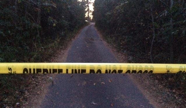 Property on Little Texas Road where deputies said bodies were found (Nov. 9, 2016)