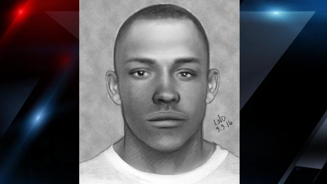 Sketch of sex assault suspect (Courtesy: GCSO)