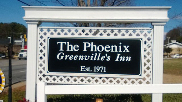 The Phoenix - Greenville Inn (Source: Marian Woods)