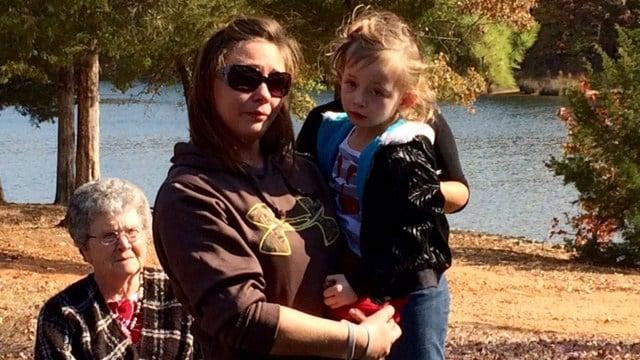 Loved ones gather at Lake Russel. (November 12, 2016 FOX Carolina)