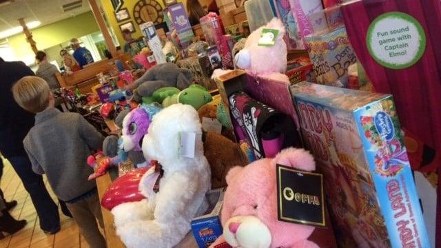 13th annual Toy Drive. (November 13, 2016 FOX Carolina)