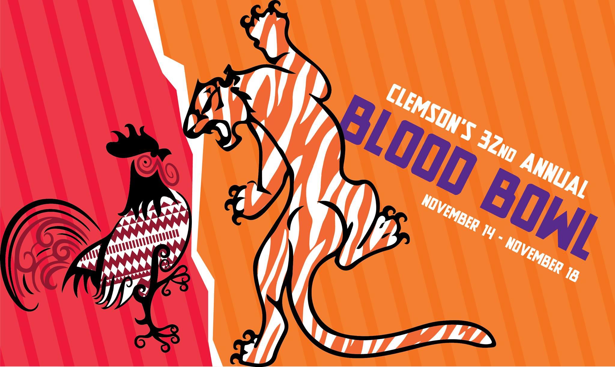 Blood Bowl artwork (Courtesy: Alpha Phi Omega - Gamma Lambda/ Facebook)