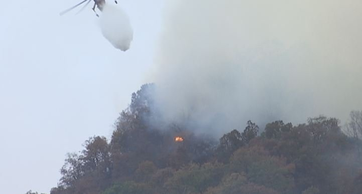 Crews are working around the clock to stifle the fires, now raging in several Upstate and western North Carolina counties (FOX Carolina)
