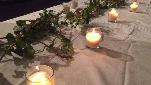 Community gathers for 17th annual Candlelight Vigil. (November 15, 2016 FOX Carolina)