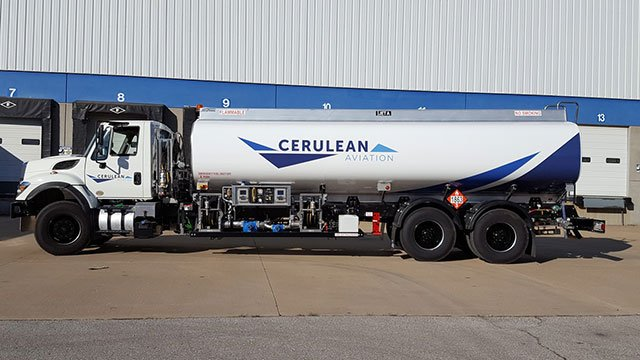 Cerulean Aviation used as new fuel supply. (Source: GSP Airport District)