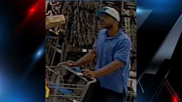 Assault and shoplifting suspect caught on camera (Source: GCSO)