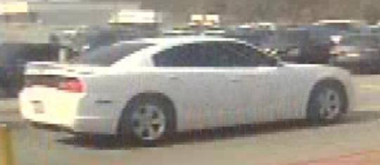 Suspect vehicle (Source: GCSO)