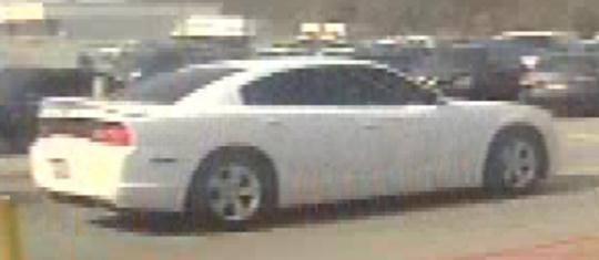 Suspect vehicle (Source: GCSO)